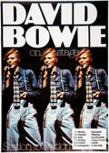 """Music Memorabilia:Posters, David Bowie """"On Stage"""" Station to Station"""