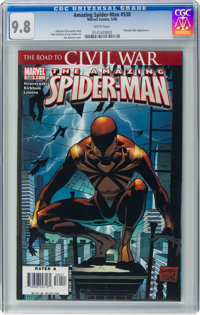 The Amazing Spider-Man #530 (Marvel, 2006) CGC NM/MT 9.8 White pages
