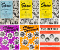 Music Memorabilia:Memorabilia, The Beatles Collection of Show Souvenir Programs (6) (1963-1964). . ...