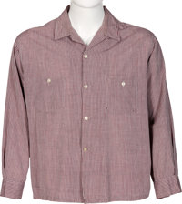 Elvis Presley Long-Sleeved Button-Up Shirt (Harper)