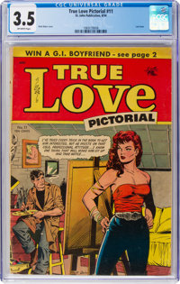True Love Pictorial #11 (St. John, 1954) CGC VG- 3.5 Off-white pages