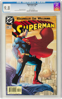 Superman #204 (DC, 2004) CGC NM/MT 9.8 White pages