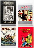 Books:General, Assorted Comics History and Comics Reprint Books Group of 21 (Various Publishers, 1970s-2000s).... (Total: 21 Items)