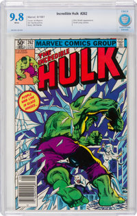 The Incredible Hulk #262 (Marvel, 1981) CBCS NM/MT 9.8 White pages