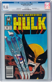 The Incredible Hulk #340 (Marvel, 1988) CGC NM+ 9.6 White pages