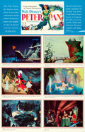 "Movie Posters:Animation, Peter Pan (RKO, 1953). Fine/Very Fine on Paper. One Sheet (28.5"" X 44"") Alternate Style.. ..."