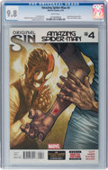 Modern Age (1980-Present):Superhero, The Amazing Spider-Man #4 (Marvel, 2014) CGC NM/MT 9.8 Whitepages....