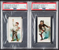 "Non-Sport Cards:Lots, 1890 N88 Duke ""Terrors of America"" PSA EX 5 Graded Pair (2)...."