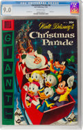 Golden Age (1938-1955):Cartoon Character, Dell Giant Comics: Christmas Parade #8 (Dell, 1956) CGC VF/NM 9.0 Off-white pages....