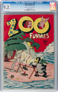 Golden Age (1938-1955):Funny Animal, Zoo Funnies #2 (Charlton, 1945) CGC NM- 9.2 Cream to off-whitepages....