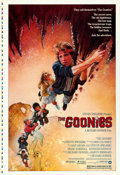 "Movie Posters:Adventure, The Goonies (Warner Brothers, 1985). Rolled, Very Fine+. Printer's Proof One Sheet (28.25"" X 41""). Drew Struzan Artwork.. ..."