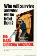 Movie Posters:Horror, The Texas Chainsaw Massacre (Bryanston, 1974). Folded, Ver...