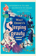 "Movie Posters:Animation, Sleeping Beauty (Buena Vista, 1959). Very Fine- on Linen. One Sheet (27"" X 41.5"") Style A.. ..."