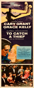Movie Posters:Hitchcock, To Catch a Thief (Paramount, 1955). Very Fine on Paper.