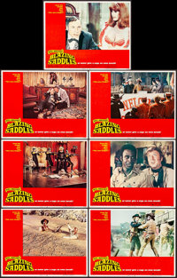 """Blazing Saddles (Warner Brothers, 1974). Very Fine. Lobby Cards (7) (11"""" X 14""""). Comedy. ... (Total: 7 Items)"""