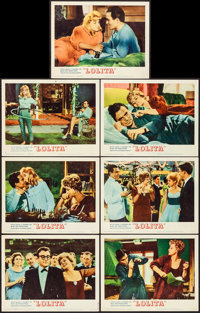 "Lolita (MGM, 1962). Very Fine. Lobby Cards (7) (11"" X 14""). Drama. ... (Total: 7 Items)"