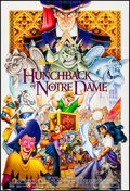 "Movie Posters:Animation, The Hunchback of Notre Dame & Other Lot (Buena Vista, 1996).Folded & Rolled, Very Fine+. One Sheets (5) (27"" X 40"") &Germa... (Total: 6 Items)"