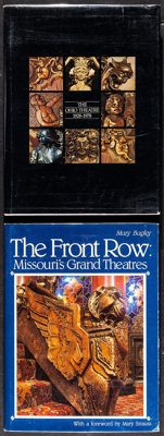 Theatre Book Lot (Various, 1975-2001). Very Fine+. Autographed Hardcover Book, Hardcover Books (4) & Paperback B...