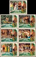 "Movie Posters:Adventure, Tarzan and the Leopard Woman (RKO, 1946). Very Fine+. Lobby Cards (7) (11"" X 14""). Adventure.. ... (Total: 7 Items)"