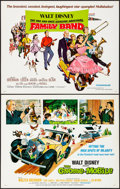 """Movie Posters:Musical, The Gnome-Mobile & Other Lot (Buena Vista, 1967). Rolled, Overall: Very Fine. Half Sheets (4) (22"""" X 28""""). Paul Wenzel Artwo... (Total: 4 Items)"""