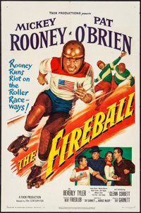 "The Fireball (20th Century Fox, 1950). Folded, Very Fine-. One Sheet (27"" X 41""). Drama"