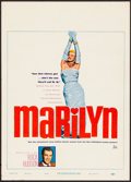"Movie Posters:Documentary, Marilyn (20th Century Fox, 1963). Fine+. Trimmed Window Card (14"" X 19.5""). Documentary.. ..."
