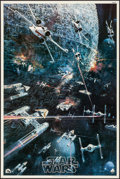 "Movie Posters:Science Fiction, Star Wars (20th Century Fox, 1977). Folded, Very Fine. SoundtrackPoster (22"" X 33"") John Berkey Artwork. Science Fiction.. ..."