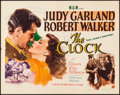 "Movie Posters:Romance, The Clock (MGM, 1945). Folded, Very Fine-. Half Sheet (22"" X 28"") Style A. Romance.. ..."