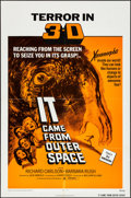 Movie Posters:Science Fiction, It Came from Outer Space & Other Lot (Universal, R-1972).Folded, Overall: Very Fine-. One Sheet & Spanish Language OneShee... (Total: 2 Items)