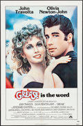 "Movie Posters:Musical, Grease (Paramount, 1978). Folded, Very Fine+. One Sheet (27"" X 41""). Musical.. ..."