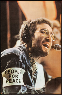 "John Lennon & Other Lot (Pace International, 1970). Rolled, Very Fine-. Personality Poster (24.5"" X 37.5&qu..."