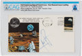 Explorers:Space Exploration, Apollo 11: Neil Armstrong Signed Lunar Landing Cover Cancelled at Houston, Texas, Directly From The Armstrong Family C...