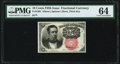 Fractional Currency:Fifth Issue, Fr. 1266 10¢ Fifth Issue PMG Choice Uncirculated 64.