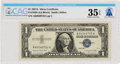 Explorers:Space Exploration, Currency: $1 1957A Silver Certificate Fr. 1620 (AA Block), PMG Choice Very Fine 35 Exceptional Paper Quality, Directly Fro...