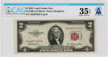 Explorers:Space Exploration, Currency: $2 1953 Legal Tender Note Fr. 1509 (AA Block), PMG Choice Very Fine Exceptional Paper Quality, Directly From The...