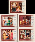 "Movie Posters:Drama, A Streetcar Named Desire (Warner Brothers, 1951). Very Fine. Lobby Cards (5) (11"" X 14""). Drama.. ... (Total: 5 Items)"