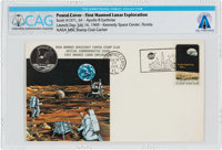 Apollo 11: Launch Cover Cancelled at Kennedy Space Center on July 16, 1969, Directly From The Armstrong Family Collectio...