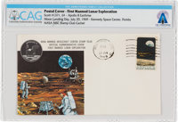 Apollo 11: Moon Landing Cover Cancelled at Houston, Texas, on July 20, 1969, Directly From The Armstrong Family Collecti...