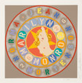 Prints & Multiples:Print, Robert Indiana (1928-2018). Marilyn Monroe, from The American Dream Portfolio, 1997. Screenprint in colors on wove p...