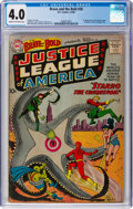 Silver Age (1956-1969):Superhero, The Brave and the Bold #28 Justice League of America (DC, 1960) CGC VG 4.0 Cream to off-white pages....