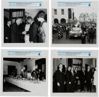 Gemini Goodwill Tour: Four Photographs from Lima, Peru Directly From The Armstrong Family Collection™, CAG Certified