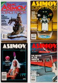 Magazines:Science-Fiction, Isaac Asimov's Science Fiction Magazine Box Lot (DavisPublications, 1978-89) Condition: Average NM-.... (Total: 2 BoxLots)
