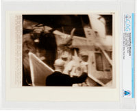 "AP ORIGINAL WIREPHOTOS: ""Apollo 11 Crew Hits the Deck"" July 24, 1969, Directly From The Armstrong Family Colle..."