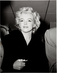 Marilyn Monroe Honeymoon Black and White Photo Made from Original Negative (1954)