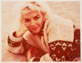 """Movie/TV Memorabilia:Photos, Marilyn Monroe """"4A"""" Color Photo Made from Original Negative Hand Signed by the Photographer.. ..."""