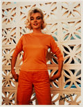"Movie/TV Memorabilia:Photos, Marilyn Monroe ""3G"" Color Photo Made from Original Negative Hand Signed by Photographer.. ..."