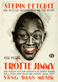"Movie Posters:Black Films, Hearts in Dixie (Fox, 1929). Folded, Very Fine+. Swedish One Sheet(28"" X 39.5"").. ..."