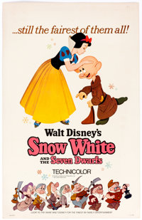 Snow White and the Seven Dwarfs and Pinocchio Reissue Poster Group of 4 (Walt Disney, 1962-78).... (Total: 4 Items)