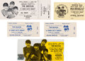 Movie/TV Memorabilia:Tickets, The Beatles A Hard Day's Night Collection of Tickets (1964).. ...