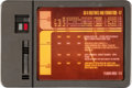 Movie/TV Memorabilia:Star Trek, Star Trek: Deep Space Nine Data Pad (circa mid- to late 1990s). . ...
